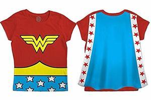 Playera Mujer Maravilla Wonder Woman Niña Original Dc