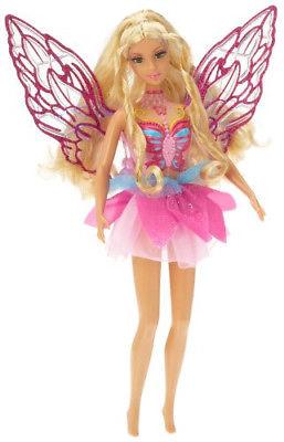 Barbie Elina hada fairy topia nueva con luz y movimiento en