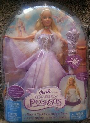 Barbie Pgaso nueva, nunca removida con luz y sonido.