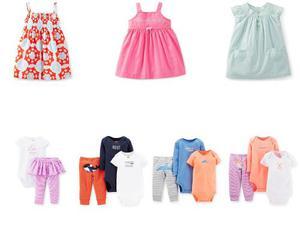 Carters Temporada  Ropa Bebe Niña Conjuntos Vestidos