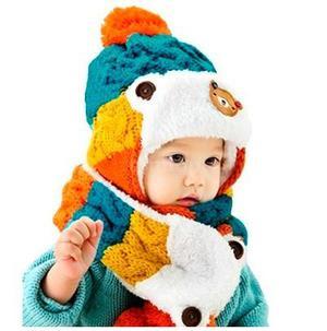 Gorro Para Bebé Con Bufanda Calientitos Babynova