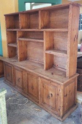 Mueble TV de Madera, Estilo Rustico