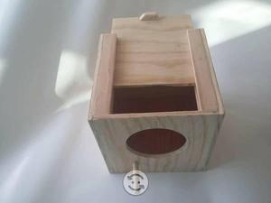 Nido de caja para periquitos y Agapornis