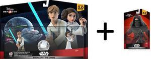 Pack Luke Y Leila Disney Infinity 3.0 Y Regalo Kylo Ren Fx