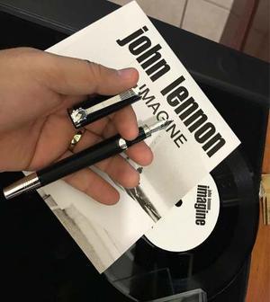 Pluma Montblanc John Lennon Edición Esp Nueva Caja Papeles