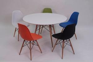Set Mesa Eames 120cm Y 4 Sillas - Promocion!!