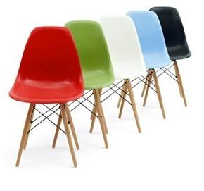 Silla Eames Varios Colores - De Remate !!!!!!