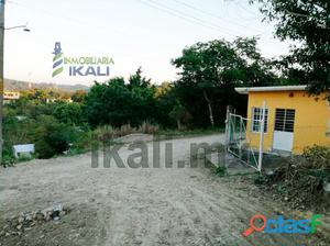 vendo terreno 291.96 m² col. Loma Bonita en Poza Rica