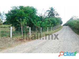 venta de finca 7 hectáreas Tuxpan veracruz pasando ojite,