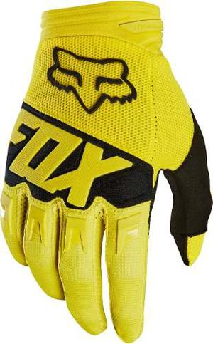 Guantes Fox Mx18 Dirtpaw Motocross Off Road Amarillo