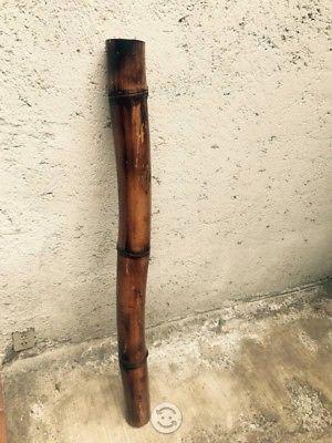 Palo de lluvia de bambú café