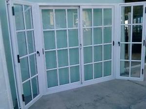 Aluminio y cristal para casas y comercios en Merida