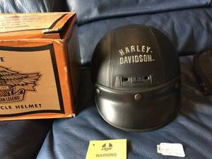 Casco Harley Davidson de piel