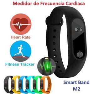 Brazalete Pulsera Reloj Inteligente Ritmo Cardiaco Smartband