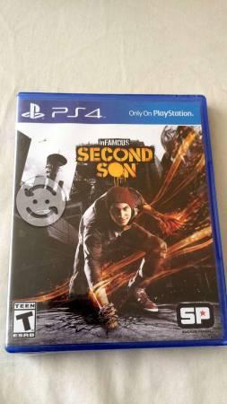 Infamous de PS4 a buen precio