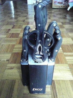 Juego de Cuchillos de 12 Piezas Marca Ekco