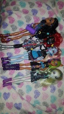 Lote de muñecas Monster high