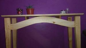 Mesa recibidor en madera de pino (Nuevo)