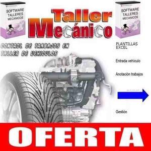Software Taller Mecanico Programa Control Gestion Servicio O