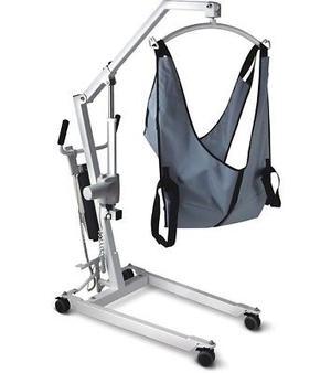 grua hidrauilca para paciente con discapacidad