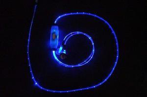 Audífonos con Luz LED Audio Rítmicos Azul Verde Rojo