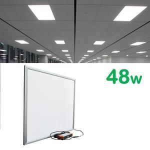 Mayoreo Panel Led 48w 60x60 Plafon Empotrado Casas Oficina
