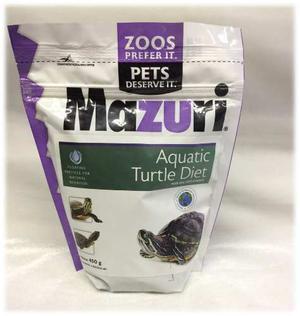 Alimento Mazuri Para Tortugas Acuaticas 450 Grs