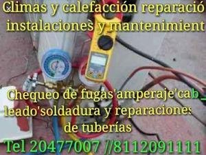 Climas reparación instalaciones mantenimiento