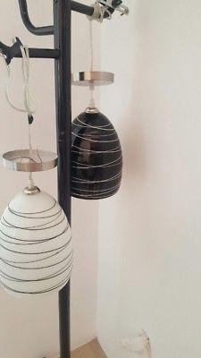 Elegantes Lámparas Colgantes – Color Blanca y Negra