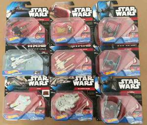 Hot Wheels Star Wars X-wing Halcón Milenario Rey Speeder