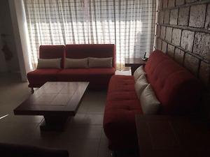 Sala 3 piezas y mesas de centro