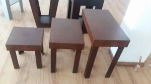 Se vende juego de mesas decorativas