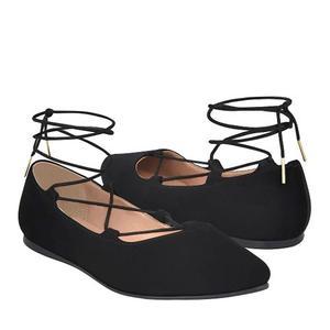 Zapatos Capa De Ozono  Suede Negro