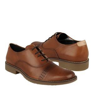 Zapatos De Vestir Flexi Para Hombre Piel Tan