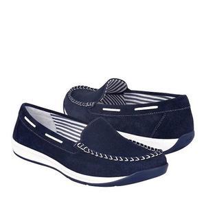 Zapatos Flexi  Piel Marino