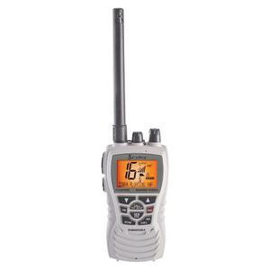 Cobra Radio Vhf Marino Hh350 Flotante 6 Watts Altavoz Blanco