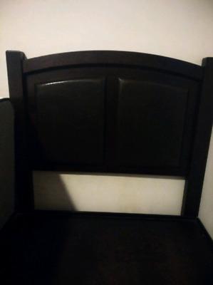 base y cabecera para cama individual