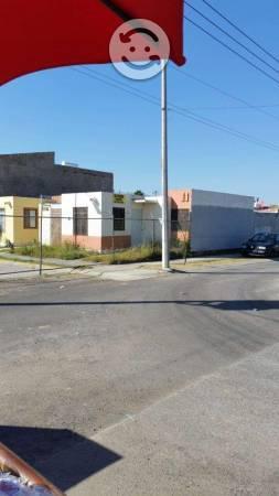 Invierte casa 2 rec en esquina 132m2 real del sol