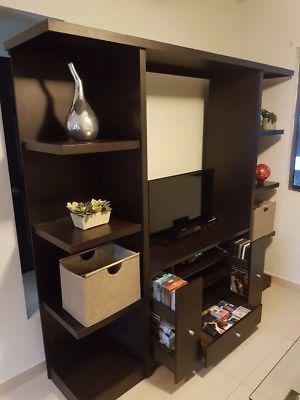 Mueble Centro de Entretenimiento / Librero