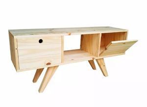 Mueble Para Tv Vintage De Madera 150cm De Largo Nordico
