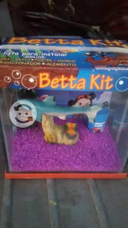 Pecera para betta kit completo