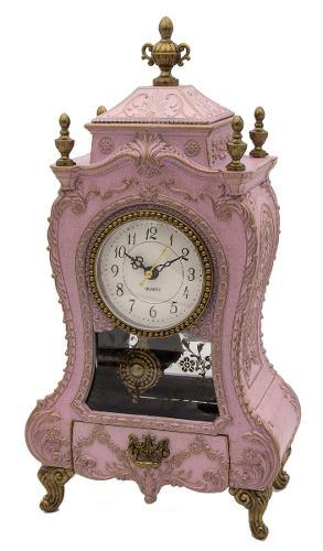 Caja Musical Reloj Mesa Péndulo Barroco Adorno Hogar Y Amor