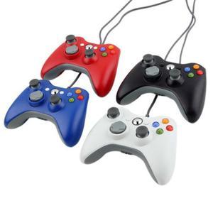Control Usb Compatible Para Xbox 360 Y Pc Gamepad 4 Colores