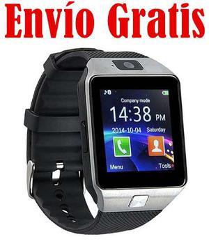 Envio Gratis Smartwatch Dz09 Reloj Celular Idioma Espa¿ol