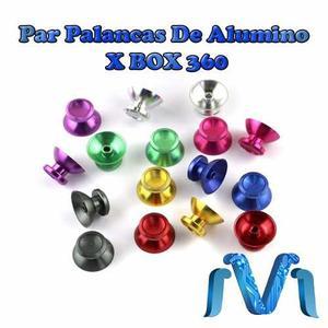Par De Palancas De Alumino Para Xbox 360, Palancas Joystick