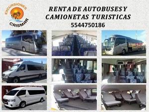 RENTA DE AUTOBUSES Y CAMIONETAS TURISTICAS