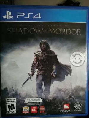 Shadows Of Mordor Ps4
