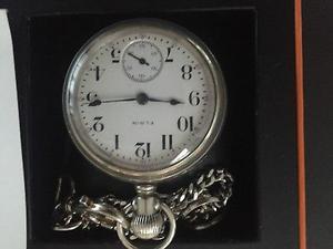 Reloj de bolsillo marca ELGIN de 21 Joyas