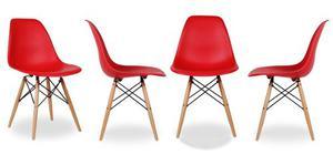 Set 4 Sillas Eames - Colores A Elegir!!