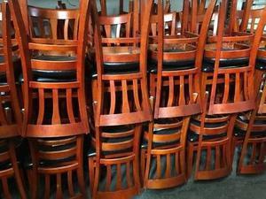 remate de muebles para restaurant mesas, sillas, para